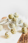 Vegan Matcha\Coconut energy balls