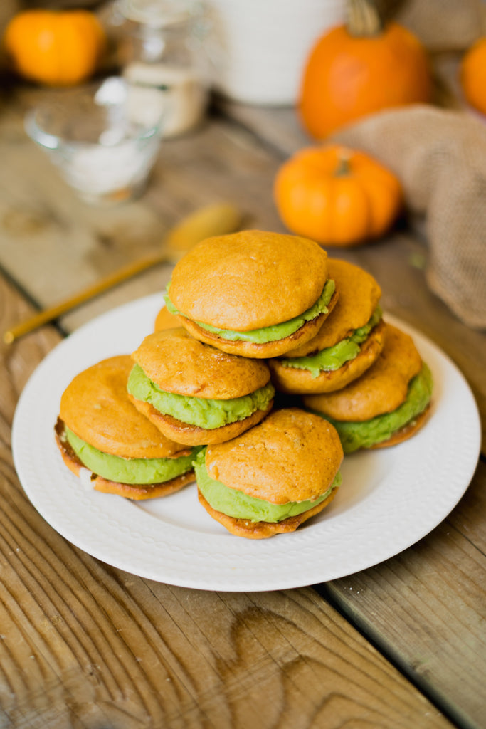 Matcha Whoopie Pie Recipe - Teangle