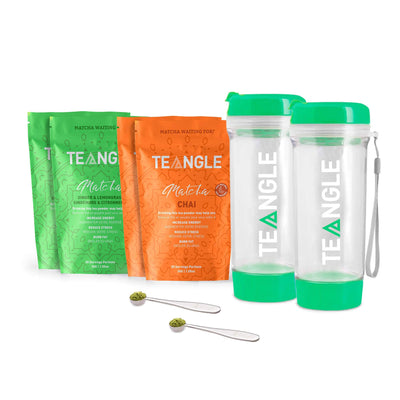Teangle Bestie Pack Two Green Bottles