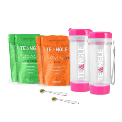 Teangle Bestie Pack Two Pink Bottles