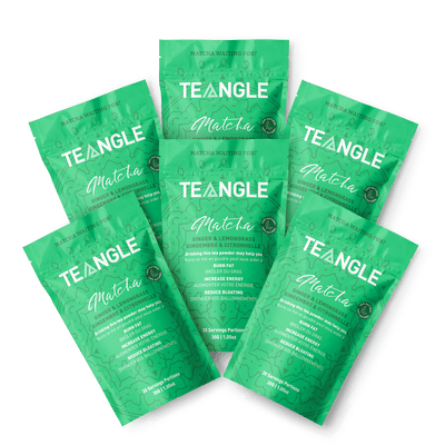 X6 sachets gingembre et citronnelle Teangle