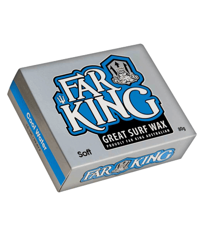 FK Soft Blue Cool Wax 80g - ECS Boards Australia