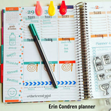 At Home Planner Stamps - 4x6