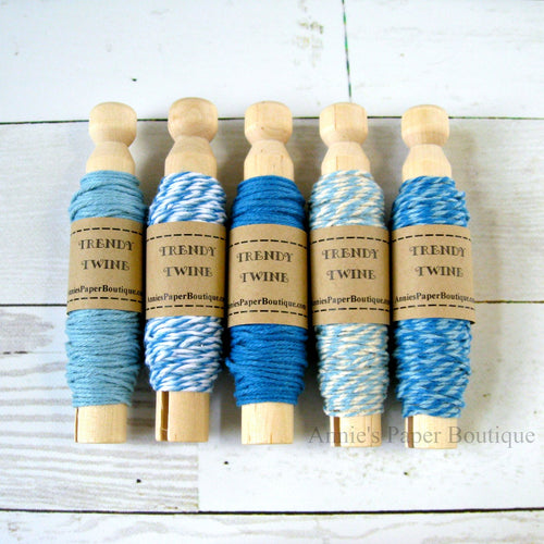 Berry Blue Trendy Bakers Twine Sampler