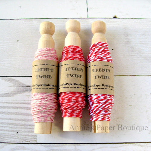 Cherry Cupcake Trendy Bakers Twine Sampler