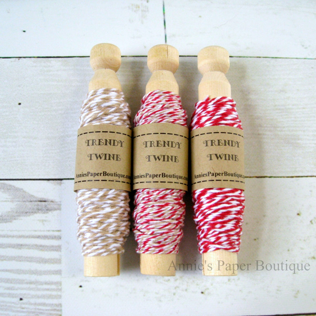 Cherry Latte Trendy Bakers Twine Sampler