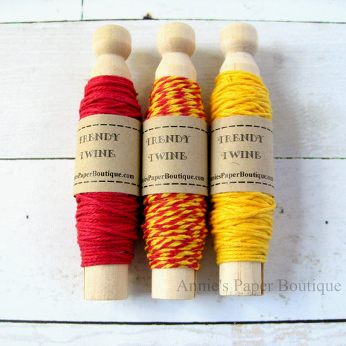 Cherry Lemonade Trendy Bakers Twine Sampler