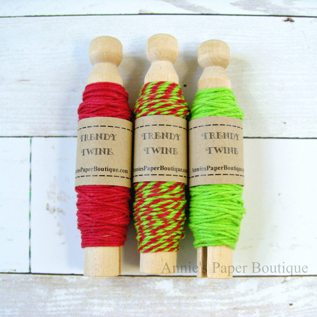 Cherry Limeade Trendy Bakers Twine Sampler