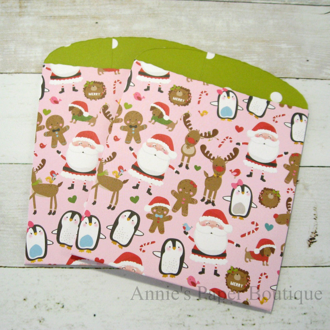 Christmas Chaos Large Paper Pockets