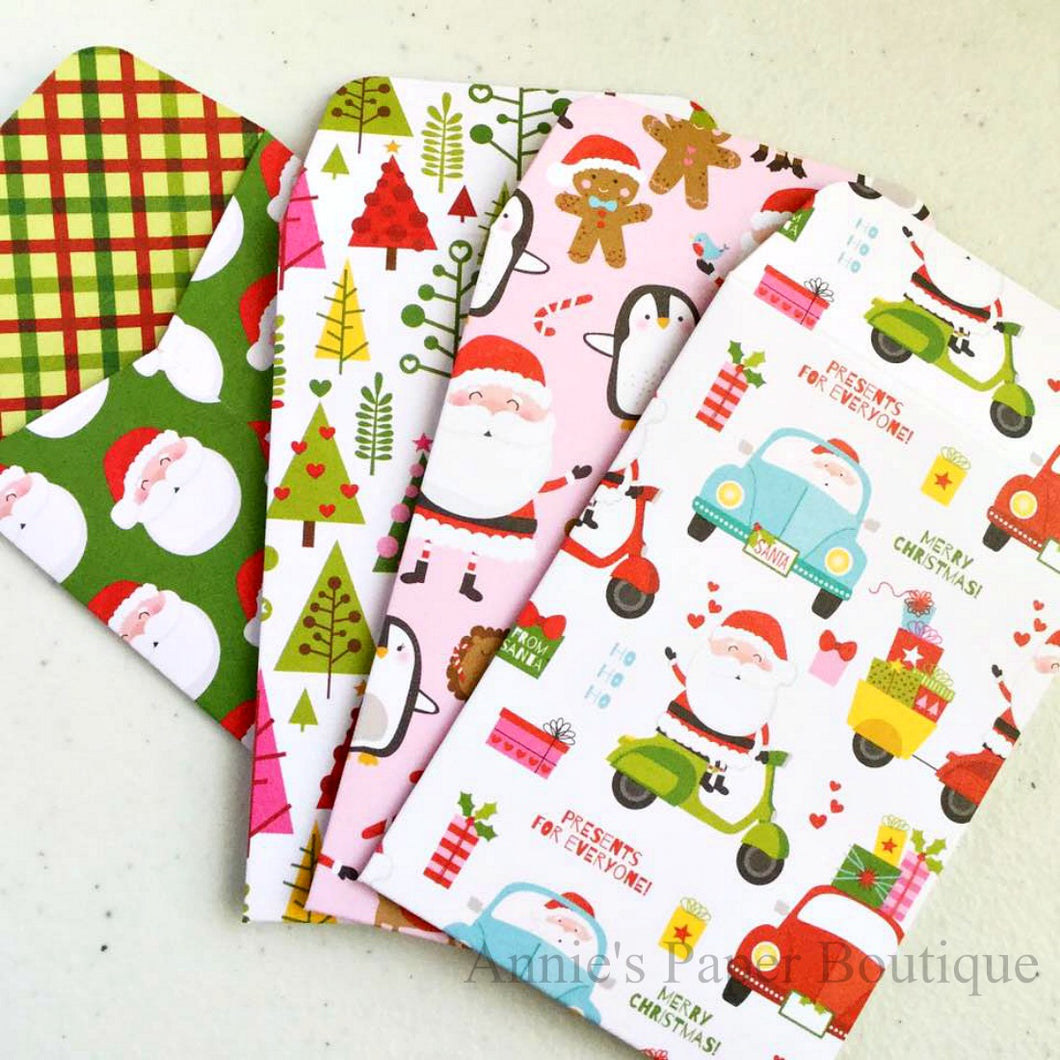 Christmas Gift Card Envelope Bundle No.2