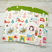 Christmas Quilt Large Paper Pockets