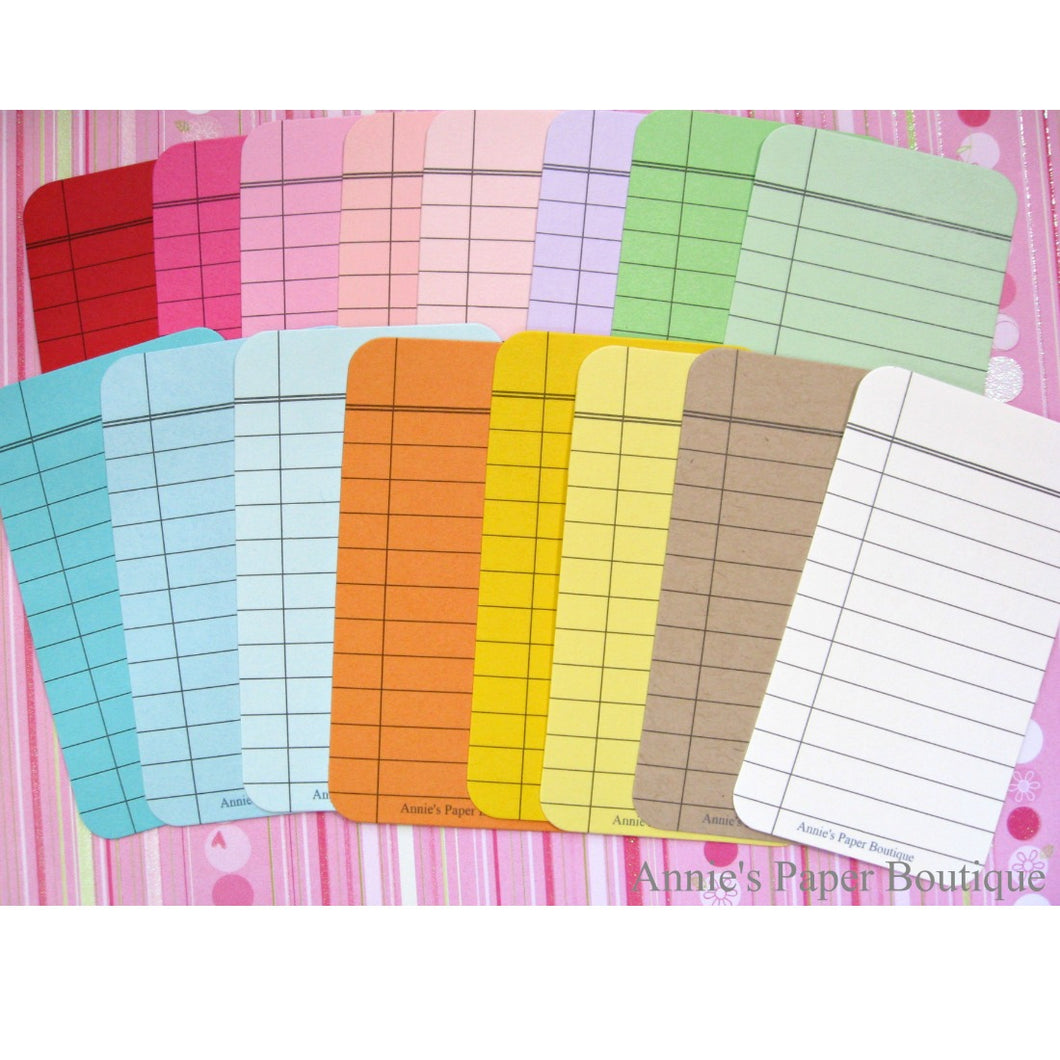Composition Journaling Cards - Color Bundle