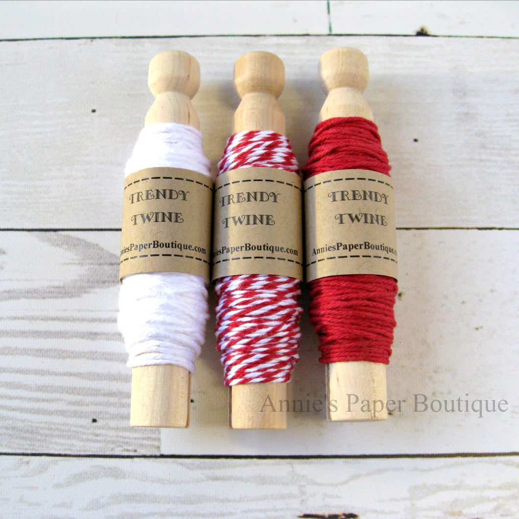 Cranberry Trendy Bakers Twine