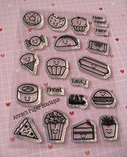 Foodies Planner Stamps - 4x6 - Food
