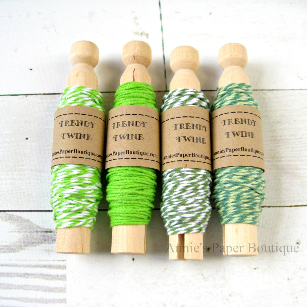 Going Green Trendy Bakers Twine Sampler