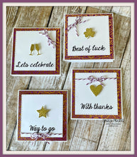 Assorted cards using the Greetings stamp set