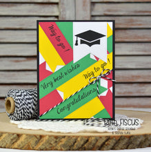 Graduation card using Greetings stamp set