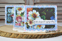 Sympathy cards using the Greetings stamp set