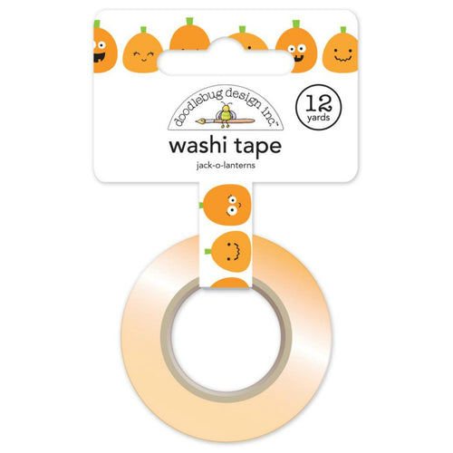 Jack-o-lanterns Washi Tape - Pumpkins, Halloween