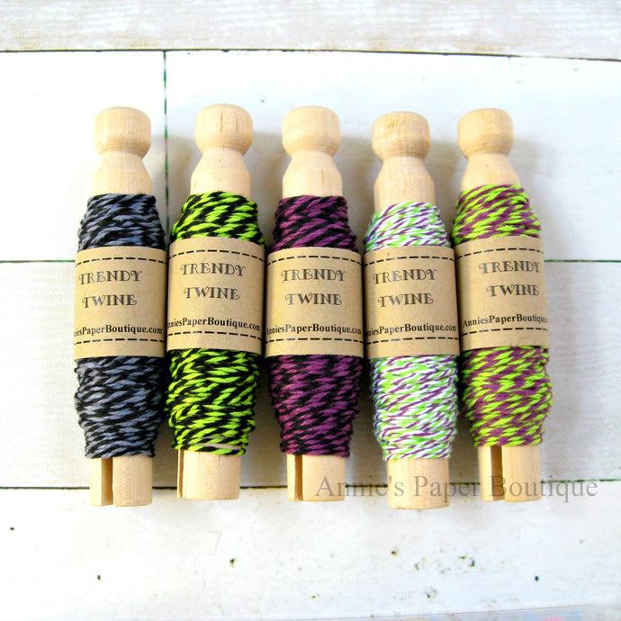 Halloween Trendy Bakers Twine Sampler