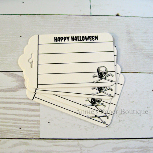 Happy Halloween Journaling Tags