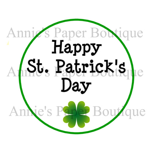 Happy St. Patrick's Day Print & Punch Tags