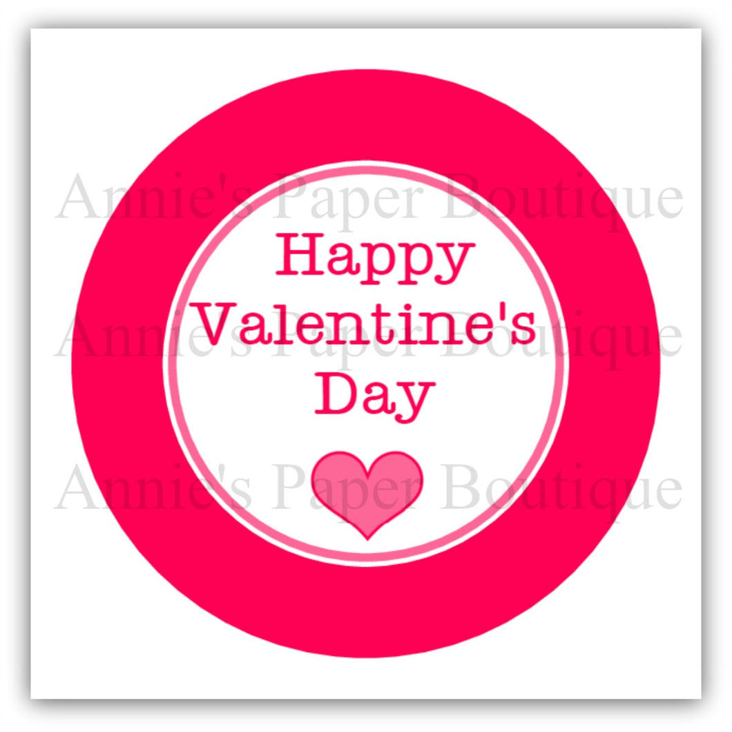 photograph about Happy Valentines Day Printable known as Delighted Valentines Working day Print Punch Tags (#2) - Printable