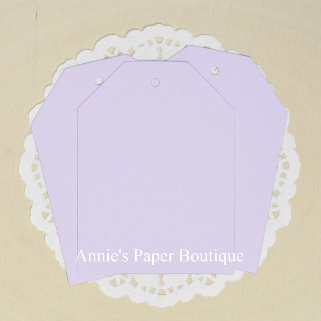 Lavender Cardstock Hang Tags