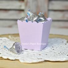Lavender Purple Mini Popcorn Boxes