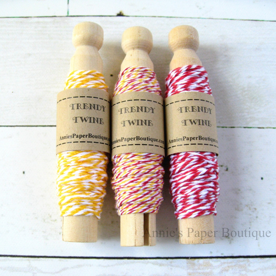Lemon Peppermint Trendy Bakers Twine Sampler