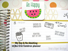 No Adulting Planner Stamps - 4x6