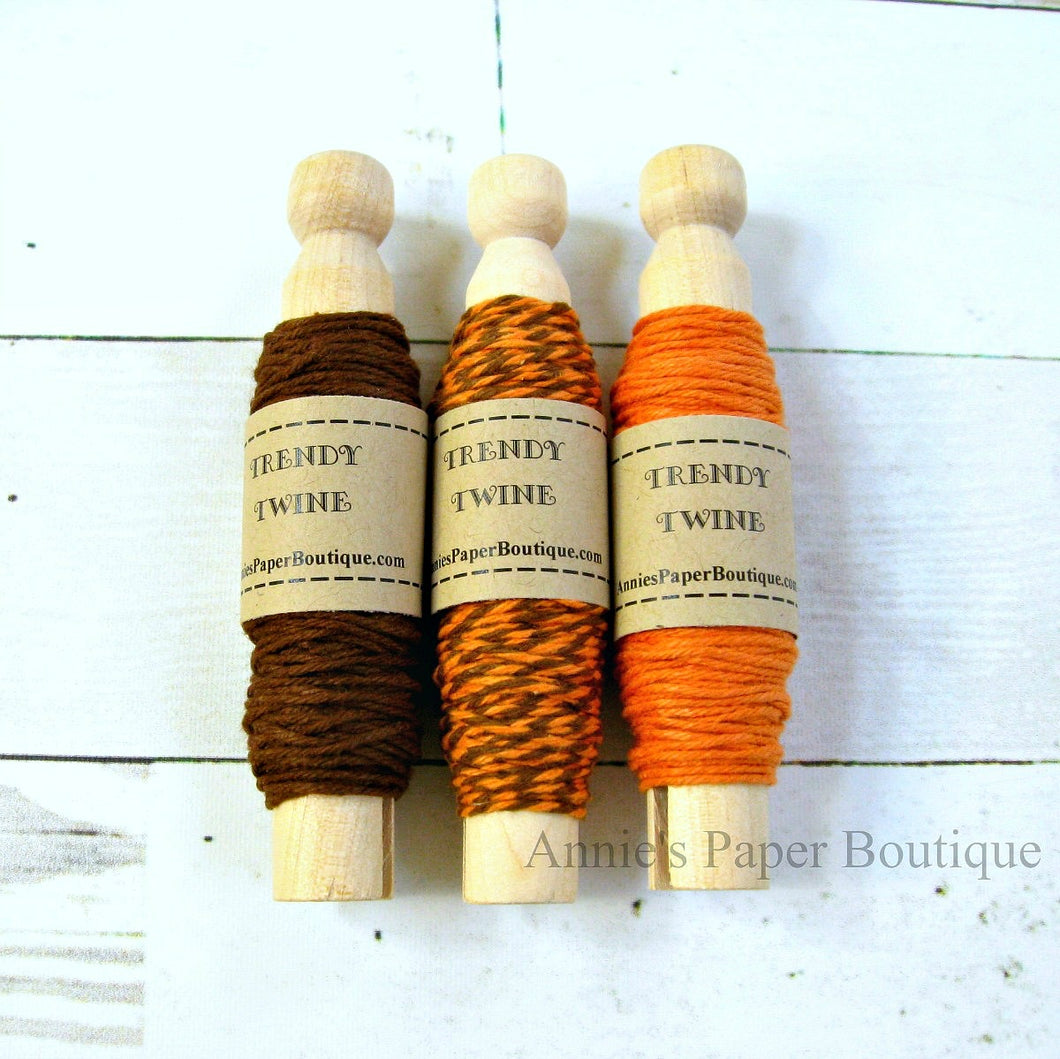 Orange Truffle Trendy Twine Sampler