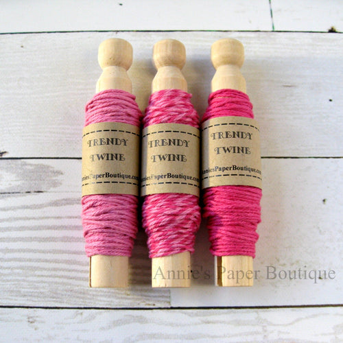 Raspberry Cupcake Trendy Bakers Twine Sampler
