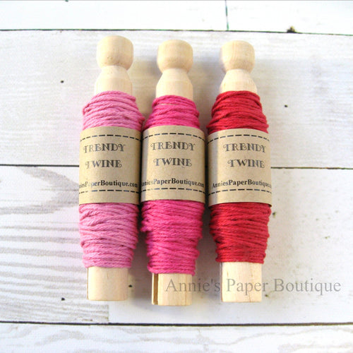 Rosy Trendy Bakers Twine Sampler