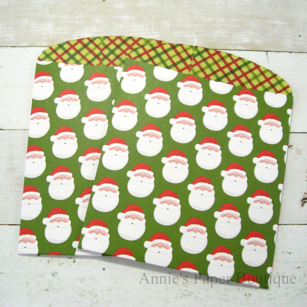 Santa Baby Large Paper Pockets