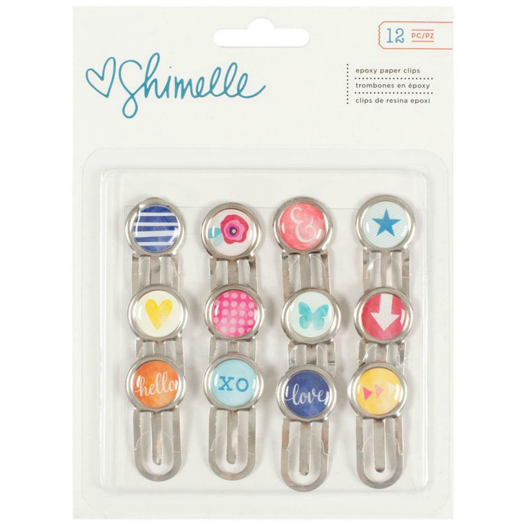 Shimelle Epoxy Paper Clips by American Crafts