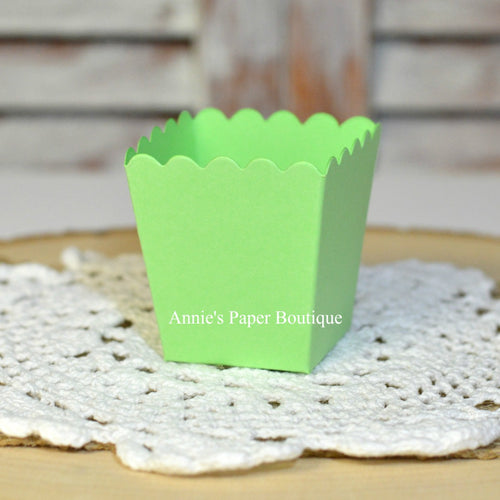 Spring Green Mini Popcorn Box