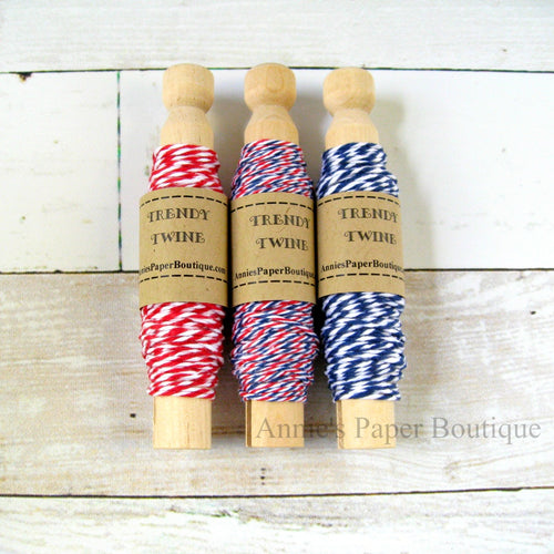 Stars & Stripes Trendy Bakers Twine Sampler