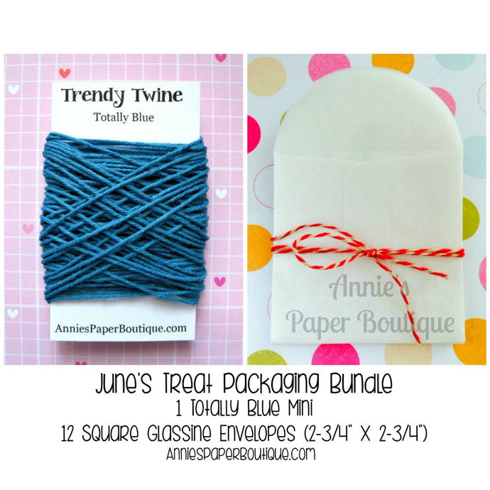 Trendy Bakers Twine Treat Packaging Bundle - June
