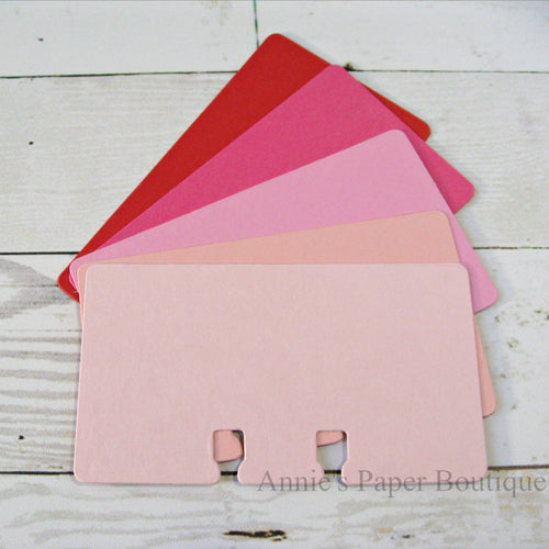 Rotary File Card Valentine Color Bundle