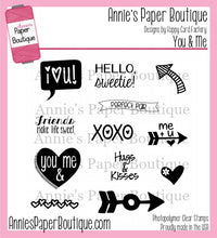 You & Me Planner Stamps - 4x4