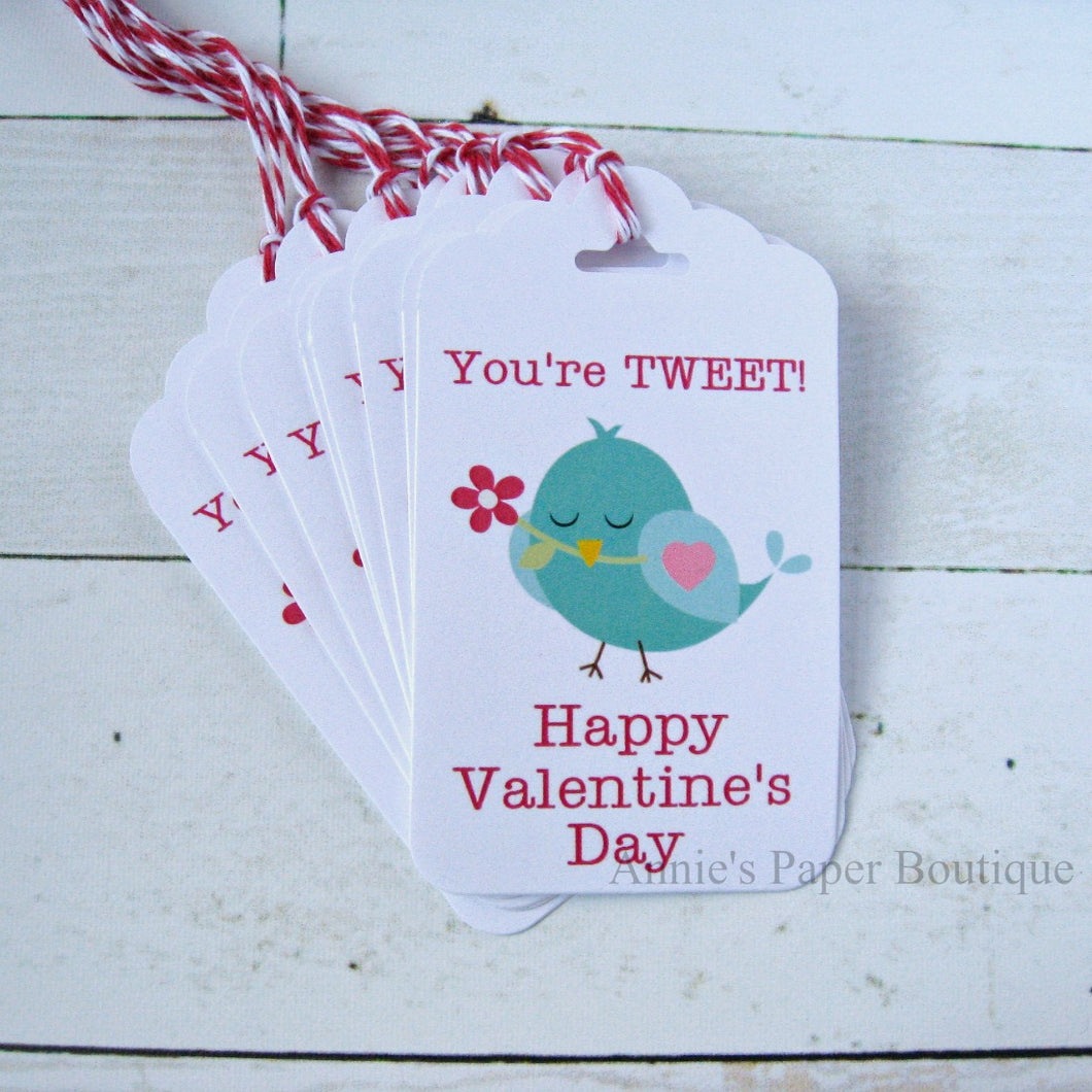 You're Tweet Valentine's Day Gift Tags