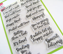 You've Got Mail stamp set, Happy Mail, Special Delivery