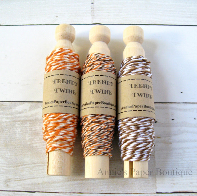 A Touch of Fall Trendy Bakers Twine Sampler