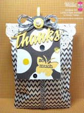 "Black Chevron Treat Bags - 3-1/4"" x 5-1/8"" Paper Bags"