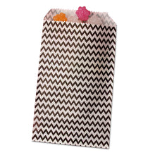 Black Chevron Treat Bag