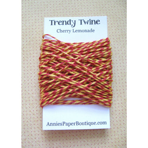 Red and Yellow Trendy Bakers Twine