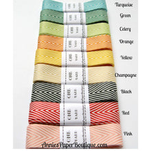 Chevron Ribbon Nine-Color Assortment