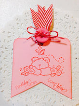Chevron Ribbon Tag Topper