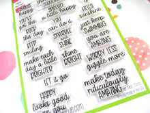 Choose Happy Stamps - 4x6